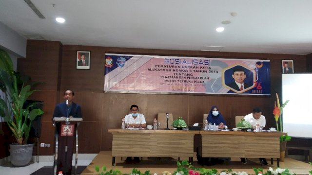 Ketua DPRD Makassar Rudianto Lallo Sosper Penataan dan Pengelolaan RTH