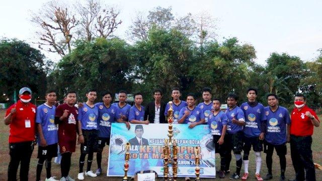 Drama Adu Penalti Bawa Juku Eja Juara Piala Ketua DPRD Makassar