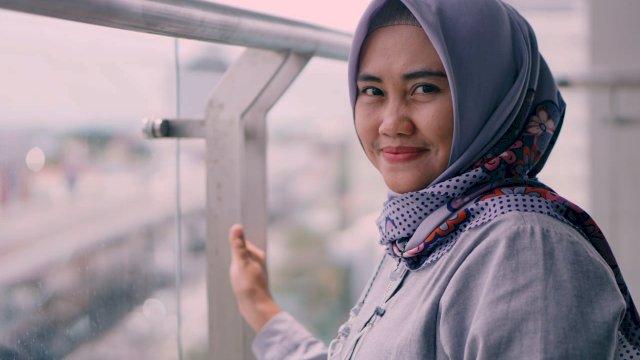 Jubir Makassar Recover, Henni Handayani.