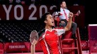 Ginting Tambah Perolehan Medali Indonesia di Olimpiade Tokyo