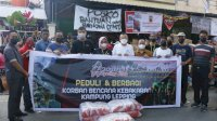 MCC Beri Bantuan Korban Kebakaran Jalan Muhammad Tahir Makassar