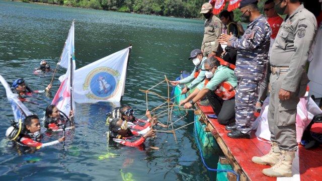 PT Vale Turut Andil Lestarikan Terumbu Karang Pesisir Laut Malili