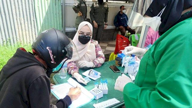 9 Hari Swab On The Road, Pemkot Makassar Periksa 2.089 Orang, 55 Positif