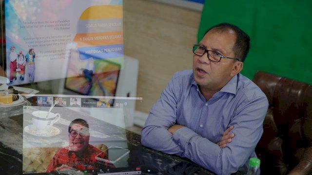 Danny Bersama Forum Bro Prof Bahas Sekolah Daring Menuju Pendidikan Berkualitas Tinggi