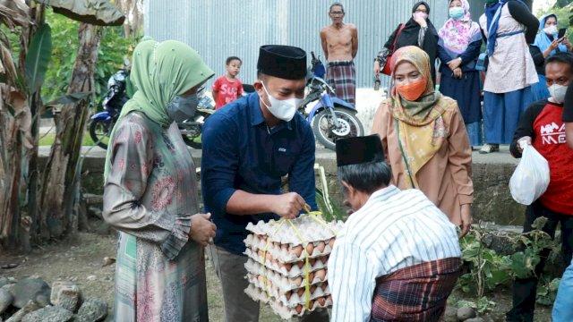 Bu Dokter dan Syahrul Ramdani Temui Korban Kebakaran di Barru