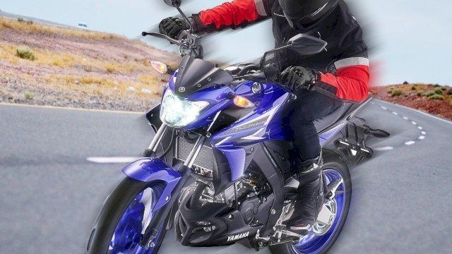 Vixion R Tampil Makin Sporty dengan Warna Baru Metallic Blue