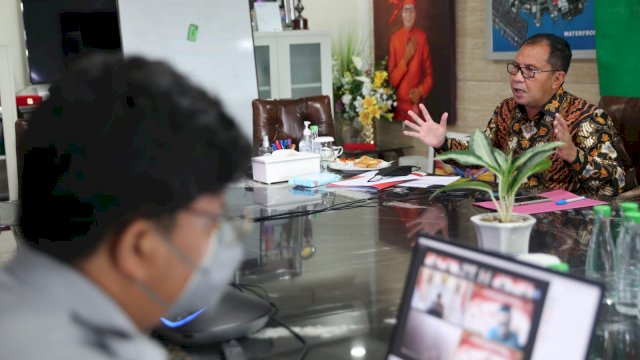 Menko Perekonomian Apresiasi Program Isolasi Apung Terpadu, Sebut Makassar Berpotensi Turun Level