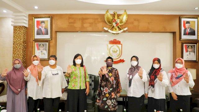 Gaungkan Makassar Bebas TB, Indira Yusuf Ismail Tekankan Kesiapan Puskesmas