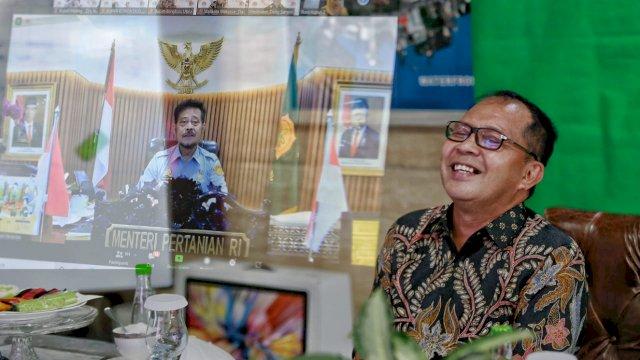 Mentan SYL Apresiasi Wali Kota Danny Tingginya Produksi Cabai di Lorong Makassar