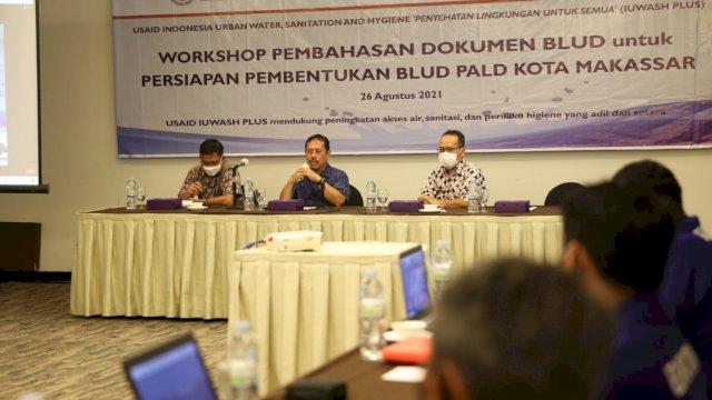 Workshop Persiapan Dokumentasi BLUD Persiapan Pembentukan BLUD PALD Kota Makassar