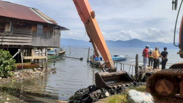 Kontribusi Menjaga Lingkungan, PT Vale Indonesia Kampanyekan Pengelolaan Sampah di Danau Matano