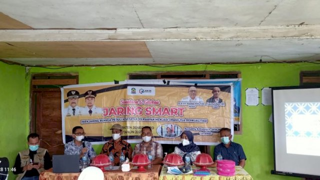 Dinkes Jeneponto Kembali Sosialisasi Program Jaring Smart, Kali Ini Digelar di Desa Pappalluang