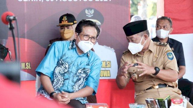 Jubir Presiden Jokowi Temukan Antusiasme Pelajar Ikut Vaksin di Gowa