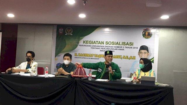Peran Orang Tua Makin Tergerus, Legislator Makassar RTQ Ingatkan Pentingnya Perlindungan Anak