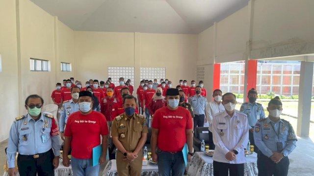 Kepala BNNP Sulsel Ajak Warga Binaan Rutan Kelas II B Jeneponto Jauhi Narkoba