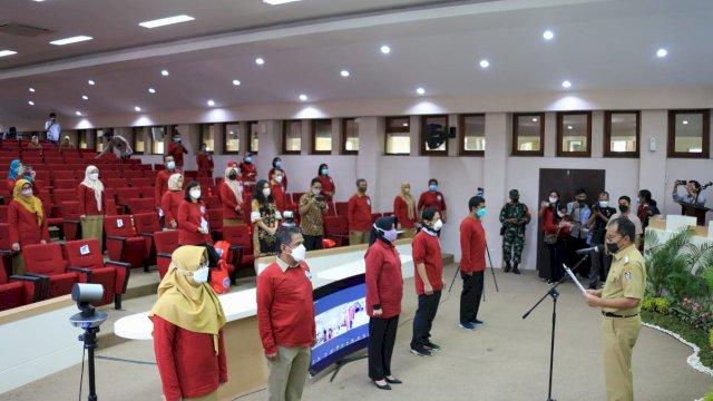 Percepatan Eliminasi Tuberkulosis Makassar, Wali Kota Danny Kukuhkan Pengurus Forum Multi Sektor