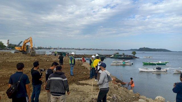 Akhir Pekan, Walikota Taufan Pawe Pantau Pembangunan Dua Ikon Kota