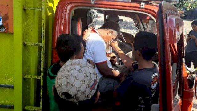 Innalillah, Supir Truk Pengangkut Beras Bansos di Jeneponto Meninggal Saat Bertugas