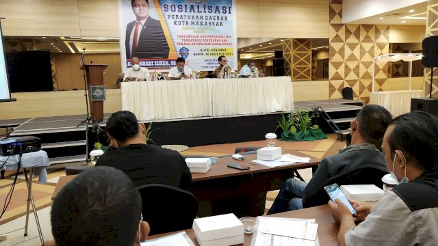 Ketua Fraksi NasDem DPRD Makassar Minta Warga Sosialisasikan Perda Minol