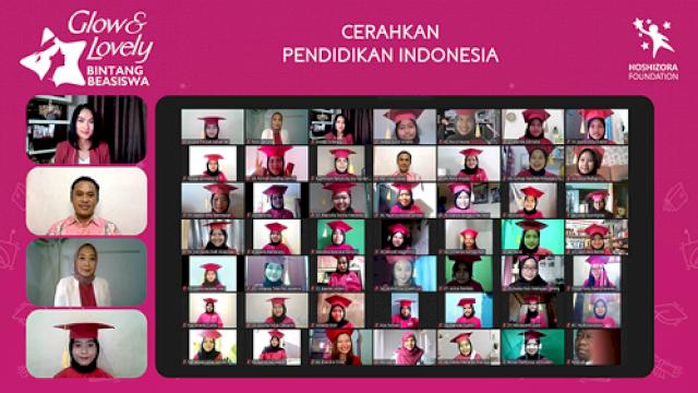 Glow & Lovely Dukung Perempuan Muda Indonesia Lanjutkan Pendidikan Tinggi di Tengah Pandemi