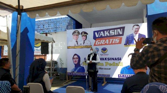 DPD Nasdem Kota Makassar Gelar Vaksinasi Massal