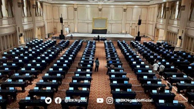 Peserta SKD CPNS 2021 Wajib Pakai Masker 3 Lapis