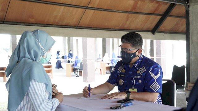 Peserta Seleksi CPNS di Gowa Diwajibkan Patuh Prokes Ketat dan Vaksin
