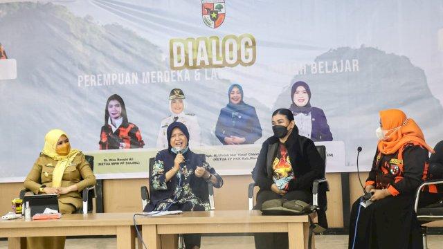 Srikandi PP Maros Hadirkan Tokoh Nasional Hasnah Syam Dalam Dialog Perempuan Merdeka