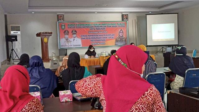 Samakan Persepsi, Pemkot Parepare-Forum Puspa Gelar Rapat Koordinasi