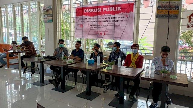 Pemuda Makassar Sepakat Jaga Stabilitas dan Harmonisasi di Tengah Pandemi Covid-19
