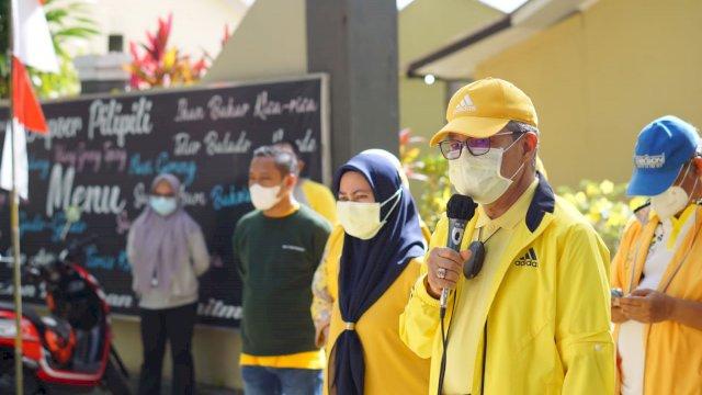 13 Jam Bupati Indah Jalan Bareng TP, Temui Warga Korban Banjir Hingga Makan Malam