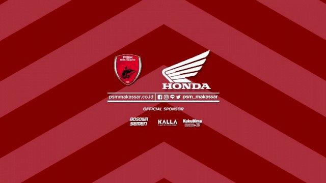 Honda Jadi Sponsor Utama di Dada Jersey PSM Makassar