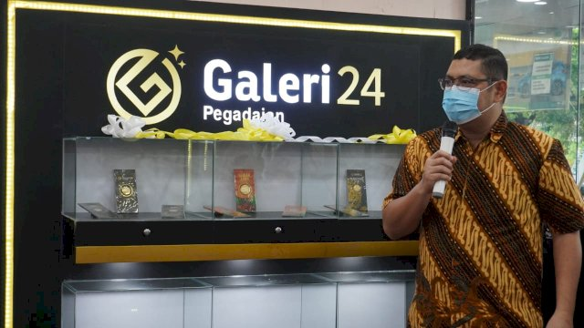 Mudahkan Warga yang Ingin Investasi, Pegadaian Makassar Buka Outlet Baru Galery24