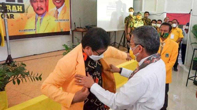 Wakil Bupati Lutra Suaib Mansur Gabung Golkar