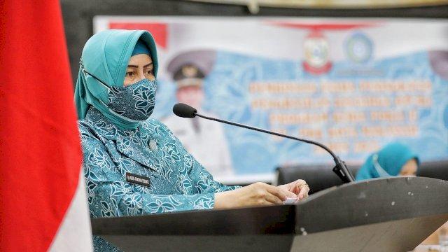 TP PKK Kota Makassar Tingkatkan UP2K untuk Tambah Pendapatan Keluarga