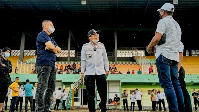 CEO PSM Tinjau Langsung Kondisi Stadion Gelora Bj Habibie