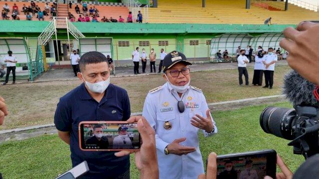 Taufan Pawe Komitmen Jadikan Parepare Kota Persepakbolaan
