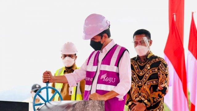 Dua Bendungan di Wajo Diresmikan Presiden Jokowi, Andi Sudirman: Terima Kasih Pak Presiden