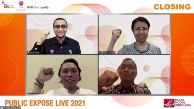 Public Expose LIVE 2021 Dihadiri 49.395 Peserta, Lewati Target