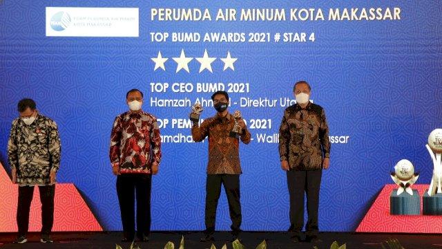 Hamzah Ahmad Dinobatkan Jadi Top CEO BUMD 2021