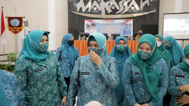 Optimalkan Pemanfaatan Pekarangan, TP PKK Kota Makassar Gelar Pembinaan HATINYA PKK