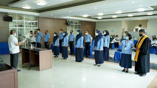 Rotasi Pejabat, Direksi PDAM Lantik Tiga Kepala Bagian Baru