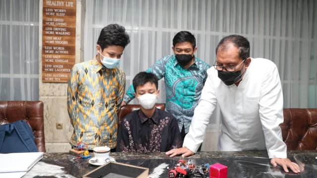 Minta Dukungan Danny Pomanto, Tiga Siswa MAN 1 Wakili Kota Makassar Lomba Asean Robotic Day