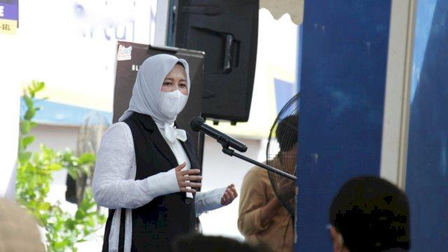 Vaksinasi Tingkat Kelurahan, Wawali Fatma Minta Ada Bilik Khusus Perempuan