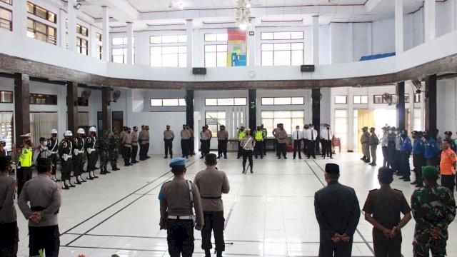 Wawali Pangerang Rahim Hadiri Upacara Latihan Pra Operasi Patuh 2021