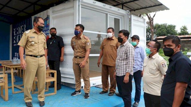 Danny Sidak Kesiapan Kontainer Makassar Recover, 3 Kecamatan Jadi Percontohan