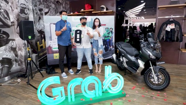 Astra Motor Sulsel Bersama Grab Makassar Luncurkan Layanan GrabBike 150