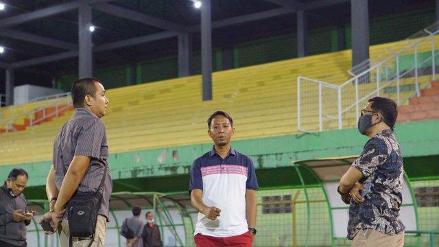 Tenaga Profesional Turun Tinjau Awal Kesiapan Stadion GBH Parepare Jadi Markas PSM Makassar