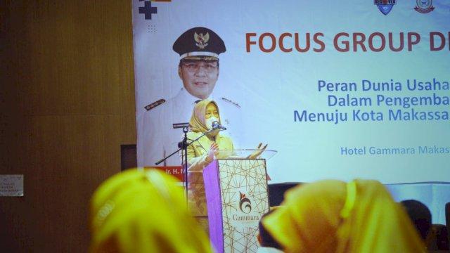 Wawali Fatma Buka Resmi FGD Harap SDC Bersinergi Dengan Program Pemkot Makassar