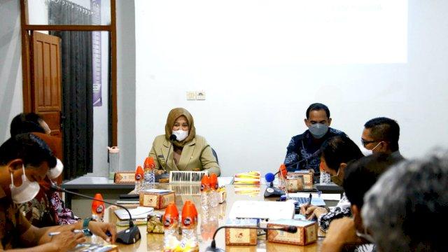 Optimalkan PTM Berjalan Lancar, Wawali Fatma Duduk Bersama Dewan Pendidikan Makassar